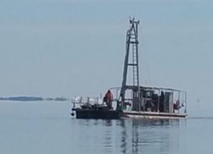 Shallow Draft Sampling Vessels