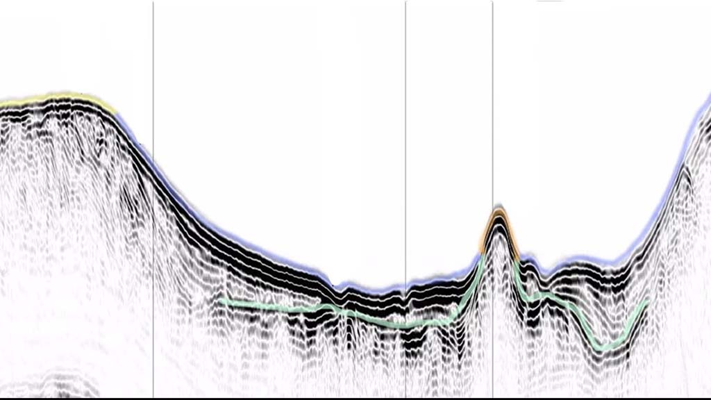Ground Penetrating Radar - Ocean Surveys %